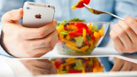 Cele mai bune aplicatii despre alimentatie pentru telefoanele mobile