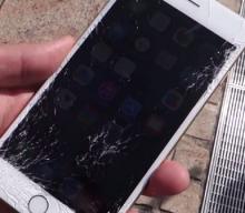 Cum reparam un ecran spart de telefon?