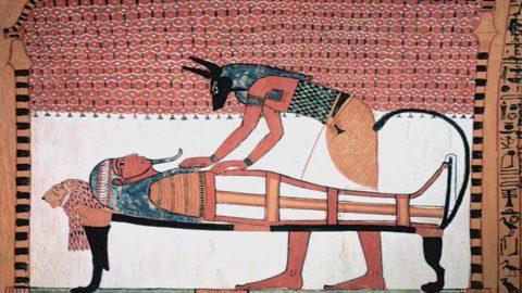 Obiceiuri funerare egiptene