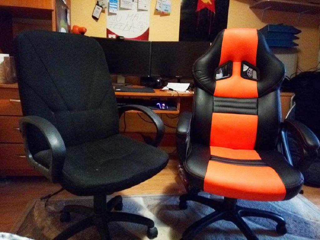 Scaun ergonomic sau scaun de gaming?