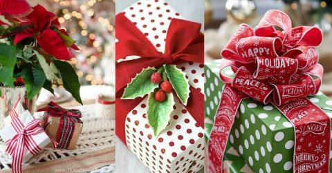 Top 5 metode de a impacheta cadourile de Craciun