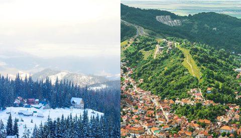 Vara sau iarna la Brașov?