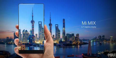 Xiaomi Mi MIX – design si display