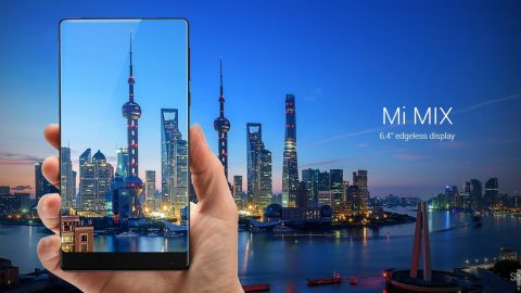 Xiaomi Mi MIX – design si display
