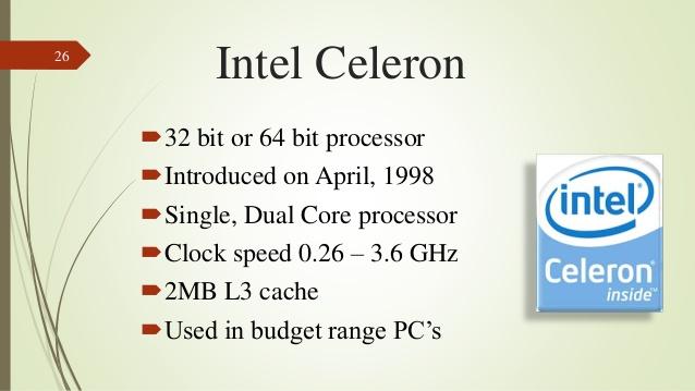 istoria procesoarelor Intel