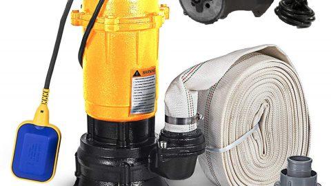 Pompa cu tocator de la shop-einstal.ro, soluția ta pentru apele murdare